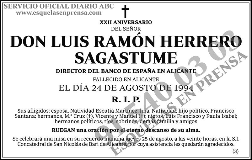 Luis Ramón Herrero Sagastume